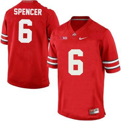 Youth Nike Ohio State Buckeyes NO. 6 Replica Red Football Jersey